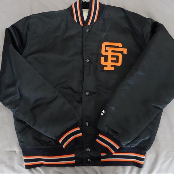 new concept 6f00e d69a7 Vintage SF Giants Starter Jacket